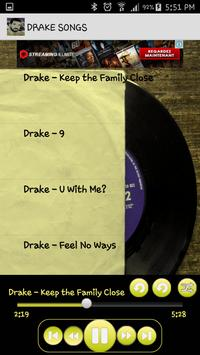 Drake Songs Music Album MP3 screenshot 2