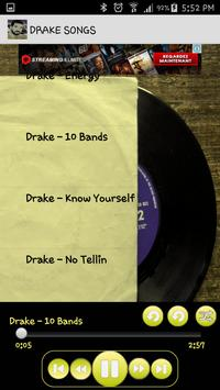Drake Songs Music Album MP3 screenshot 4