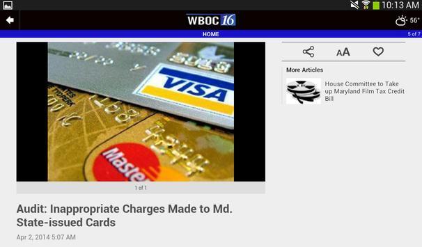 WBOC TV16 screenshot 17