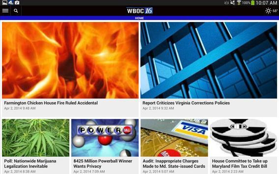 WBOC TV16 apk screenshot
