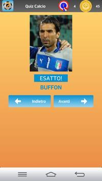 Quiz Calcio apk screenshot