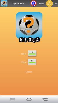 Quiz Calcio poster