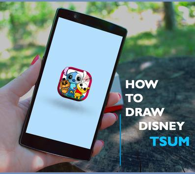 How To Draw Disney anime  Characters poster