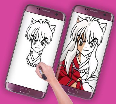 How to Draw Inuyasha apk screenshot