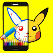 How To Draw Pikachu icon