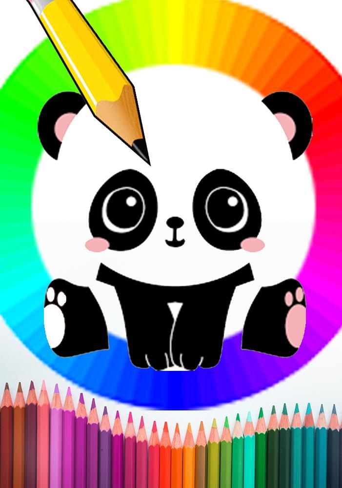 Desenhar Colorir Panda Magica Cor Pelo Numero Para Android Apk