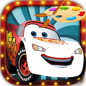 Mcqueen  Cars 3 Coloring pages icon