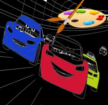 Mcqueen  Cars 3 Coloring pages screenshot 1