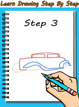 Learn To Draw Cars apk screenshot