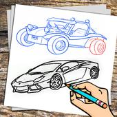 Car Drawing icon