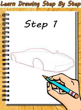 Car Drawing poster