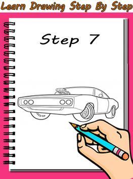 How To Draw Speed Cars apk screenshot