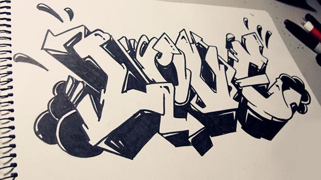 How To Draw Graffitis apk screenshot
