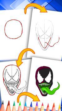 Dessiner spiderman for android apk download - Dessiner spiderman facile ...