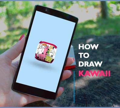 how to draw kawaii poster
