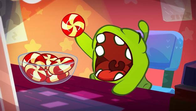 How to Draw Om Nom from Game Cut The Rope poster