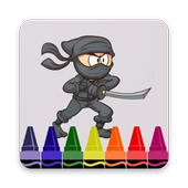 How to Draw Ninja Characters Step by Step icon