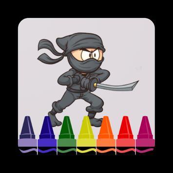 How to Draw Ninja Characters Step by Step apk screenshot