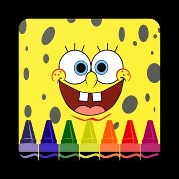 How to Draw Sponge Bob Easy Step poster