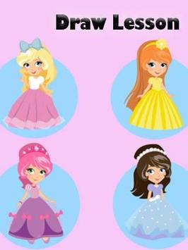 How to Draw Princess Step by Step screenshot 1