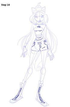 Learn to Draw Winx apk screenshot