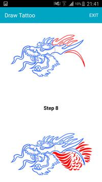 How To Draw Tattoos apk screenshot