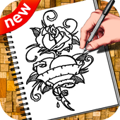 How To Draw Tattoo icon