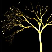 Draw art of plasma trees color