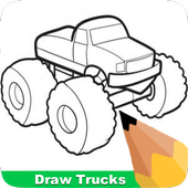 How To Draw Trucks icon