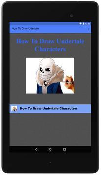 How To Draw Undertale screenshot 1