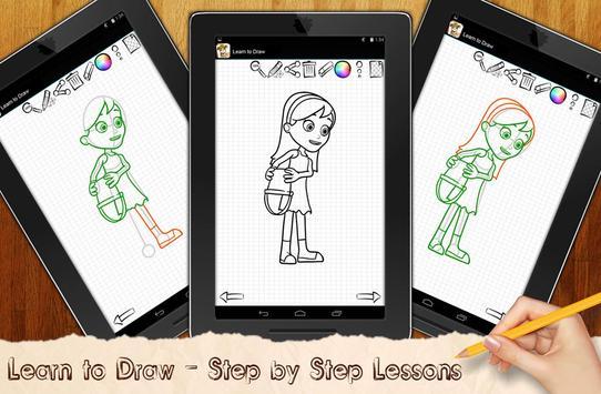 Learn to Draw PAW Patrol apk screenshot