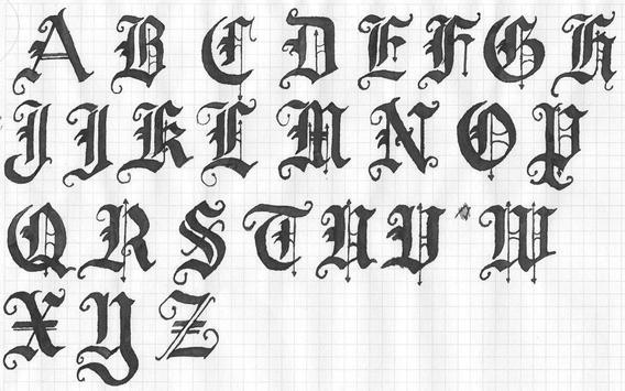 Draw a Graffiti Letter A-Z screenshot 3