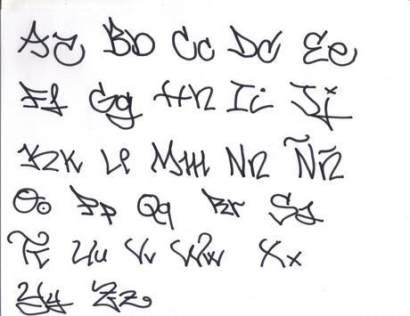 Draw a Graffiti Letter A-Z screenshot 2