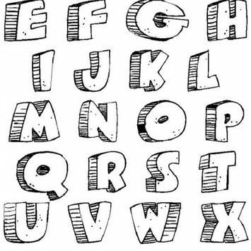 Draw a Graffiti Letter A-Z screenshot 4