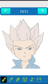How to draw Inazuma Eleven screenshot 3