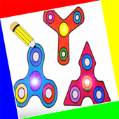 Draw a Spinner icon