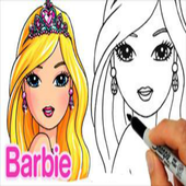 How To Draw Barbie icon