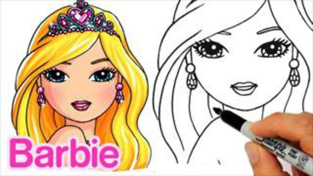 How To Draw Barbie apk screenshot