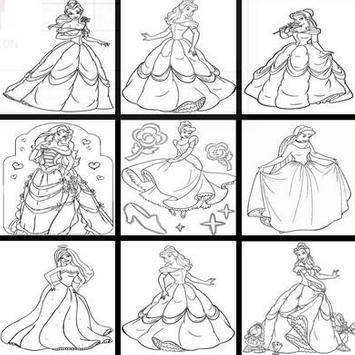 draw beautiful ice princess screenshot 2