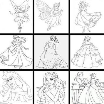 draw beautiful ice princess screenshot 4
