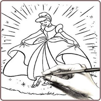 draw beautiful ice princess screenshot 5