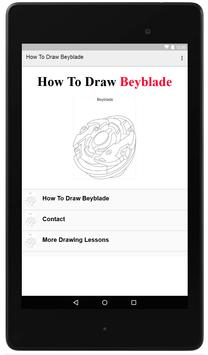 How To Draw Beyblade poster