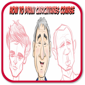 How To Draw a Caricature icon