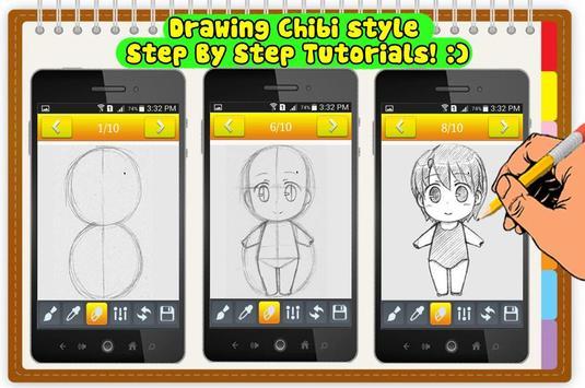 How to Draw Chibi Anime kawaii apk screenshot