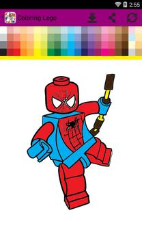 Lego Coloring poster