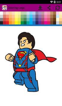 Lego Coloring screenshot 2