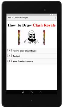 How To Draw Clash Royale poster