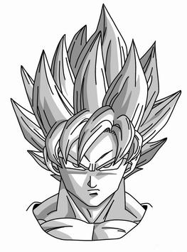 How To Draw Dragon Ball Z DBZ apk screenshot
