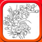 Draw Flower Ideas icon