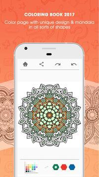 Colorfy Mandala Coloring Book Apk Screenshot
